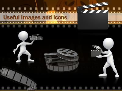 Mac Moving Wallpaper Hd Film And Movie Reels A Powerpoint Template From
