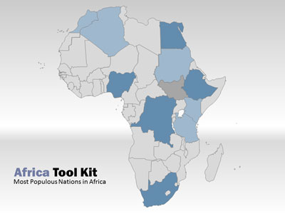 World Map Tool Kit - A PowerPoint Template from PresenterMedia
