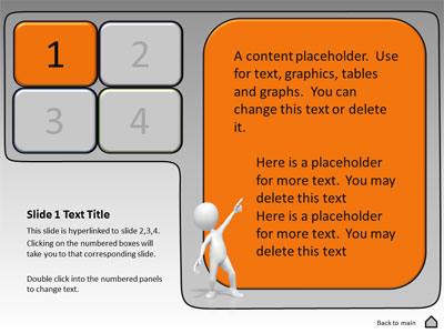 Interactive Panels Tool Kit - A PowerPoint Template from - interactive powerpoint template