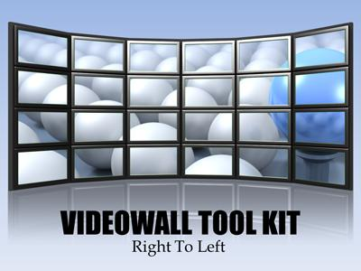 Video Wall Tool Kit - A PowerPoint Template from PresenterMedia