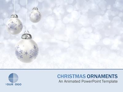 Ornament Winter Wonderland - A PowerPoint Template from