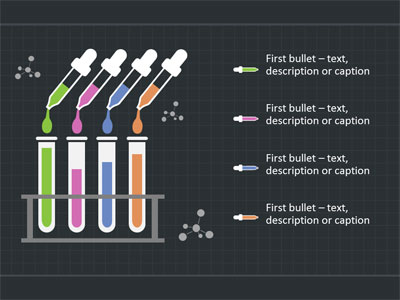 Mixing The Formulas Chemistry - A PowerPoint Template from