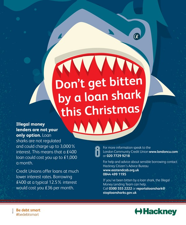 Don't get bitten by a loan shark this Christmas