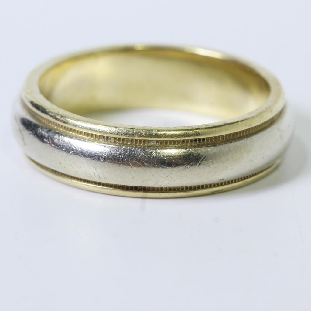 source HPPANEL law enforcement wedding bands 14kt Gold 10g Beveled Wedding Band Ring