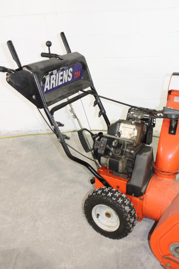 Ariens 724 Snow Blower Property Room - Ariens Snow Thrower