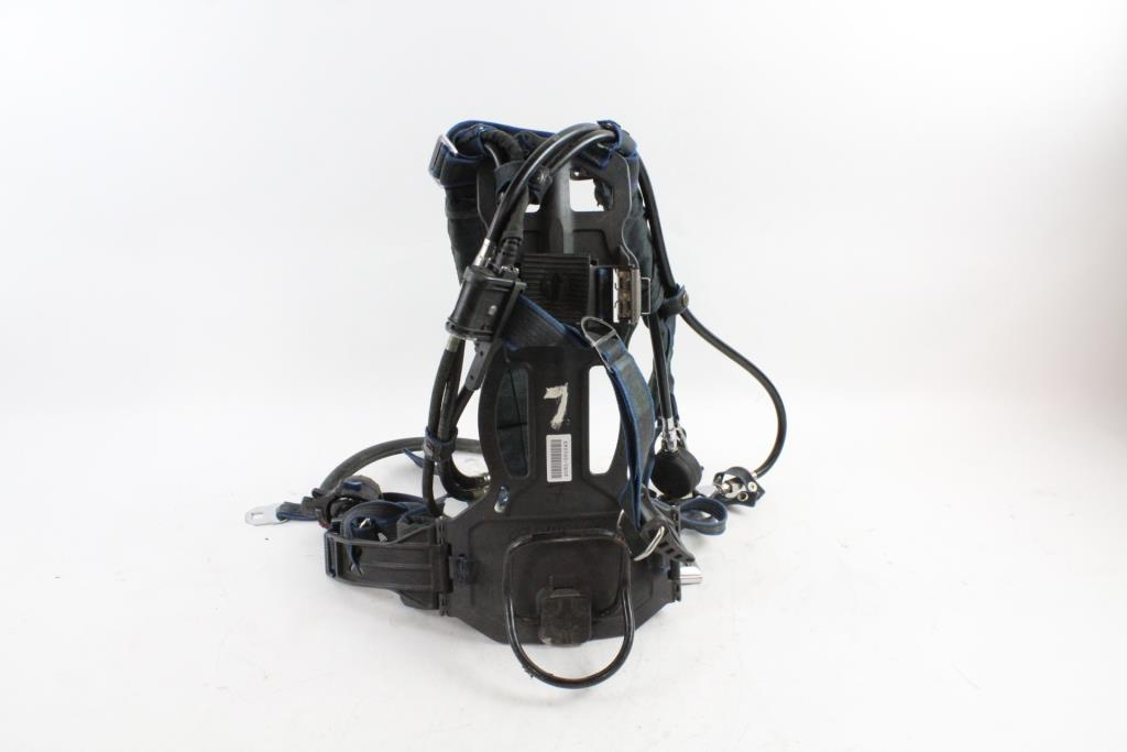 Survivair Panther SCBA Backpack Harness Property Room