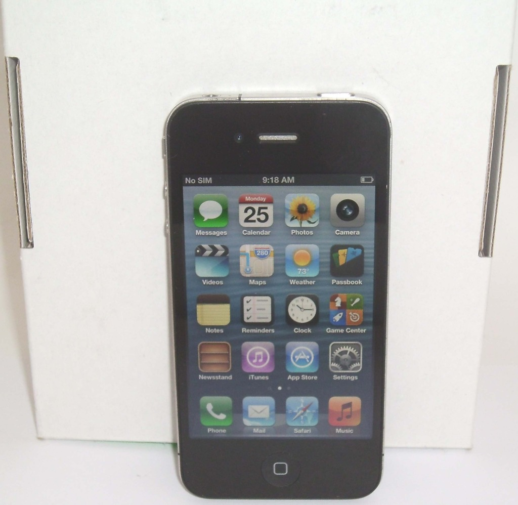 Iphone 4 8gb Libre At Andt Apple Iphone 4 8gb Smartphone Property Room