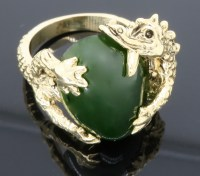 Yellow Gold Dragon Ring | Property Room