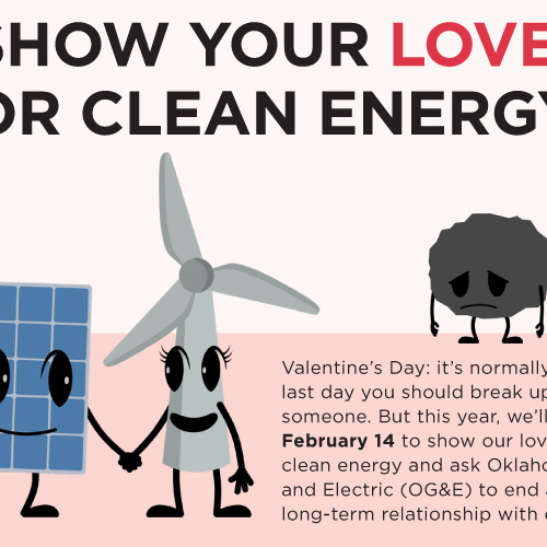 Oklahoma Gas and Electric Valentine\u0027s Day Card Creative Archive - og and e