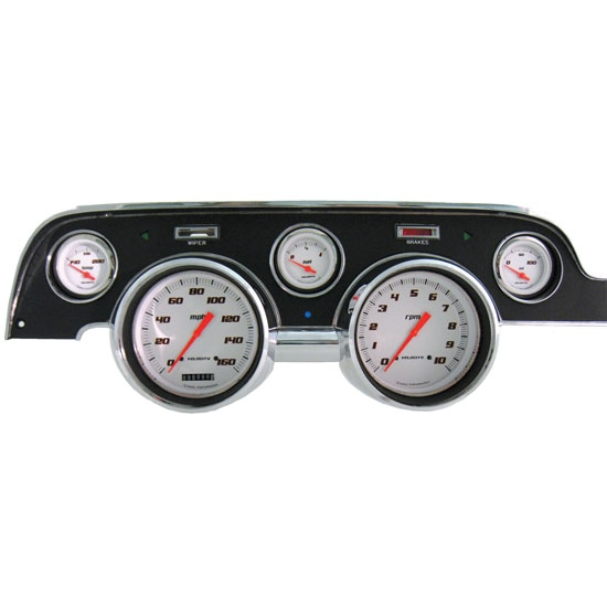 Classic Instruments MU67VSW Dash Assembly Gauge Set, 1967-68