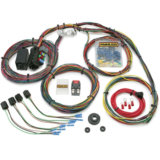 Painless 10127 1966-1976 Mopar Muscle Car 21 Circuit Wiring Harness