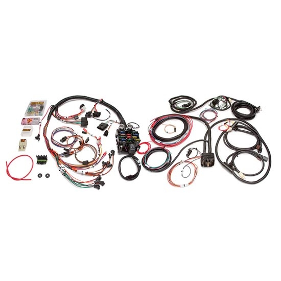 Painless Wiring 10150 21 Ciruit 1975-86 Jeep CJ Wiring Harness