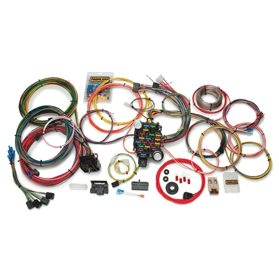 Painless Wiring Harness Chevy Wiring Diagram