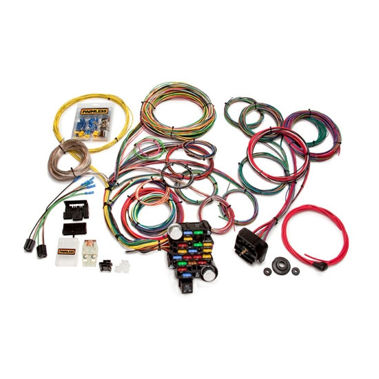 Painless Wiring 20104 Universal 28 Circuit Muscle Car Wiring Harness