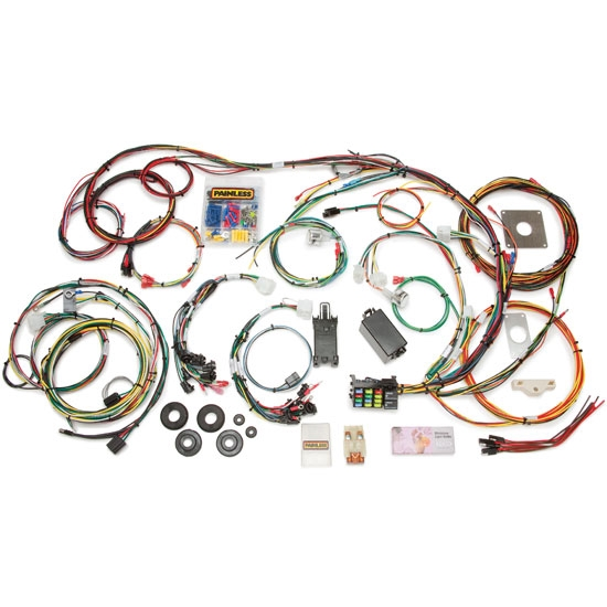 Painless Wiring 20120 1964-1966 Mustang 22 Circuit Wiring Harness