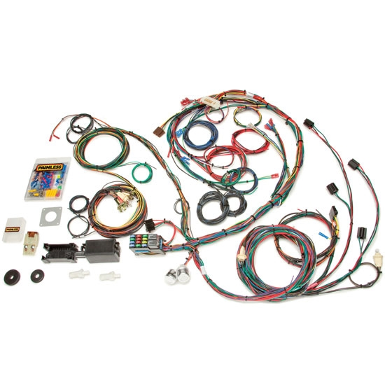 Painless Wiring 20122 1969-1970 Mustang 22 Circuit Wiring Harness
