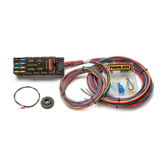 Painless Wiring 50001 10 Circuit Race Only Chassis Harness