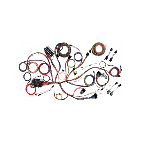 American Autowire 510125 Chassis Wiring Harness, 1964-66 Mustang