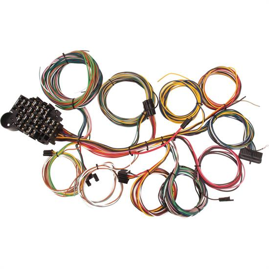 Shop Vehicle Wiring Harness Kit - Speedway Universal 22 Circuit