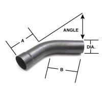 Mild Steel Mandrel Bend Exhaust Elbow Pipe, 90 Degree, 3-1 ...
