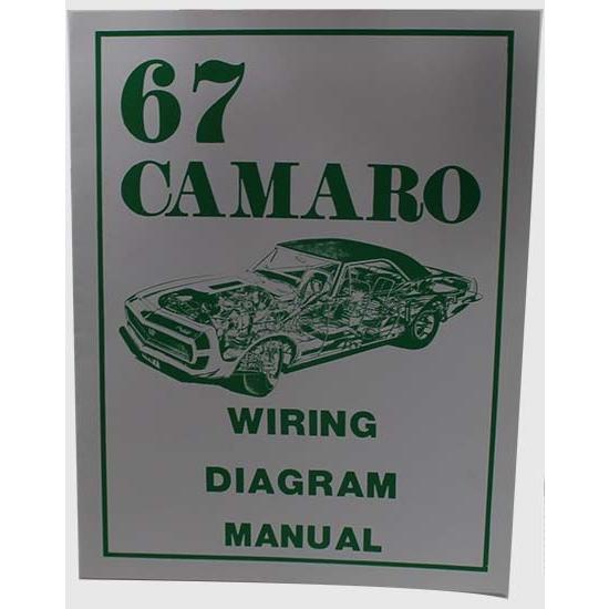 Jim Osborn MP0032 1967 Camaro Wiring Diagram Manual