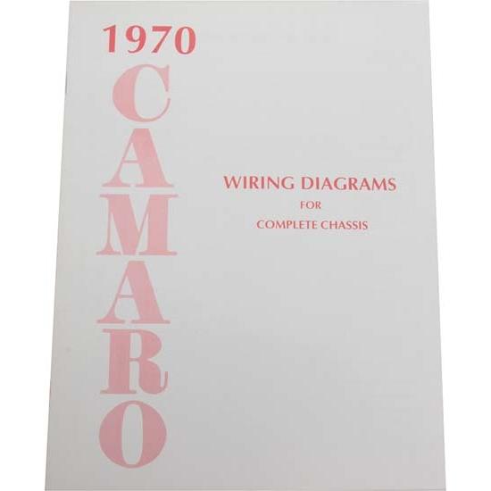 Jim Osborn MP0160 1970 Camaro Wiring Diagrams