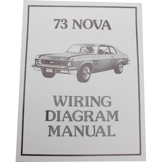 Jim Osborn MP0173 1973 Wiring Diagrams, Chevrolet by the Numbers