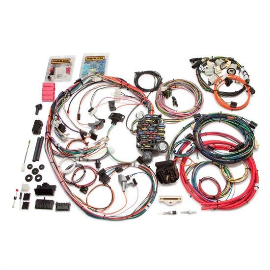 Painless Wiring 20113 26 Circuit Wiring Harness, 1974-77 Camaro