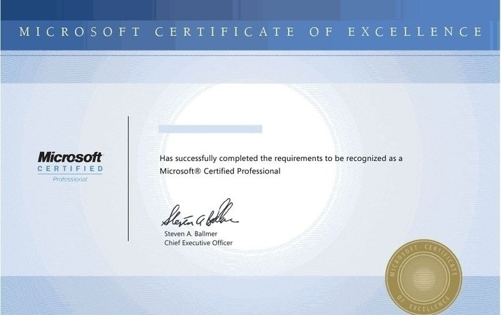 what do you think of Microsoft certification changes? - Training - certificate microsoft