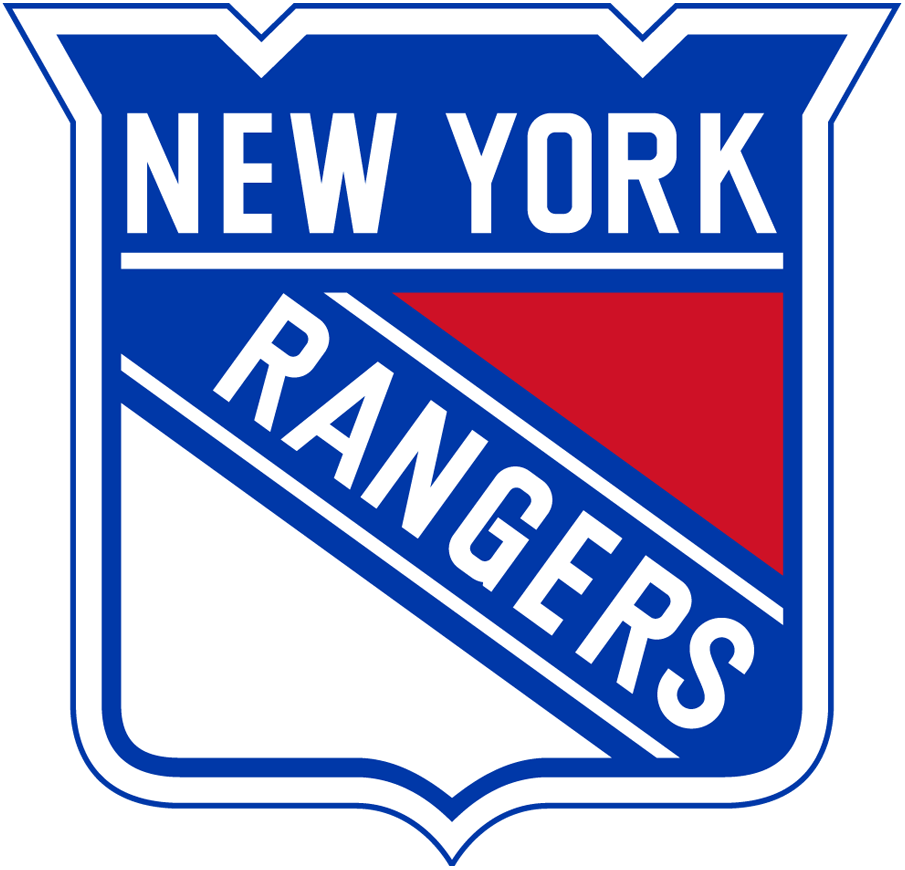 Hockey Logos New York Rangers Primary Logo National Hockey League Nhl