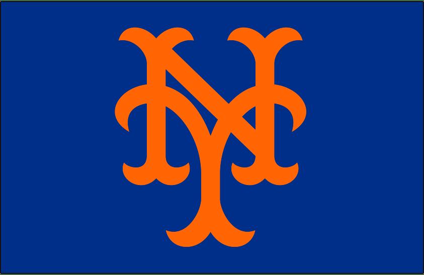 3d Wallpaper Ny Giants New York Mets Cap Logo National League Nl Chris