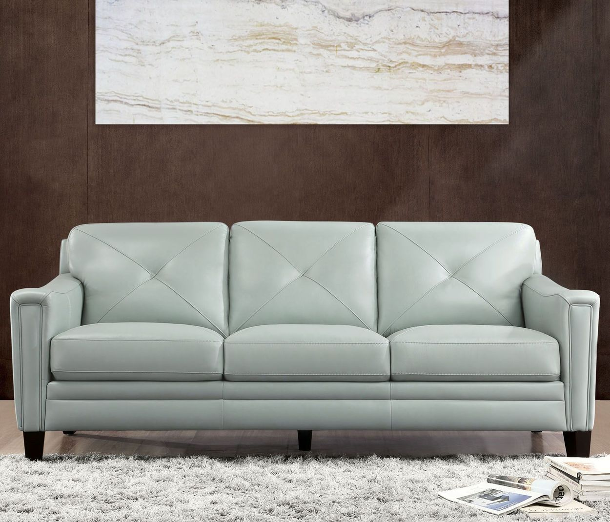 Atmore Top Grain Leather Sofa
