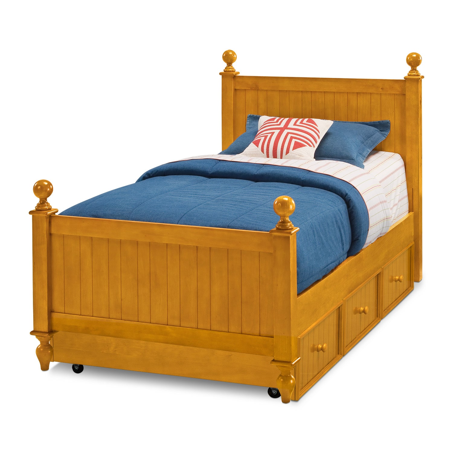 Discount Trundle Beds Colorworks Trundle Bed