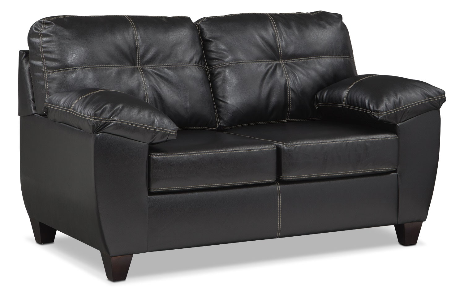 Sofa Foam Leeds Ricardo Queen Memory Foam Sleeper Sofa And Loveseat Set Onyx