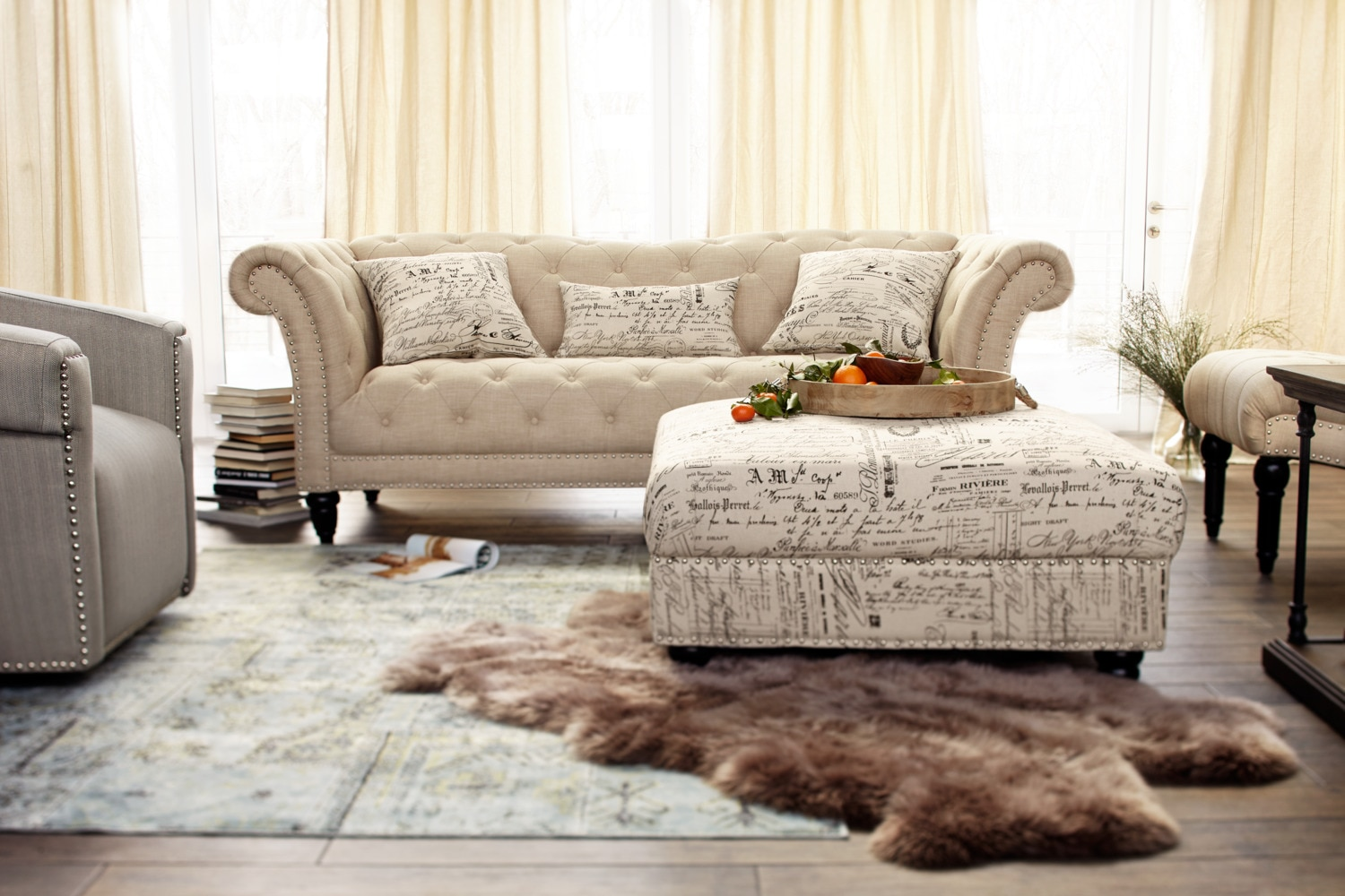 Sofas In Value City Furniture Marisol Sofa - Beige | Value City Furniture And Mattresses