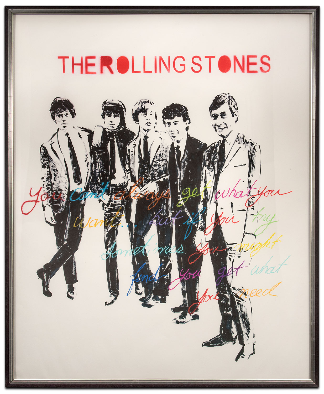 Sofas In Value City Furniture The Rolling Stones Framed Print | Value City Furniture And