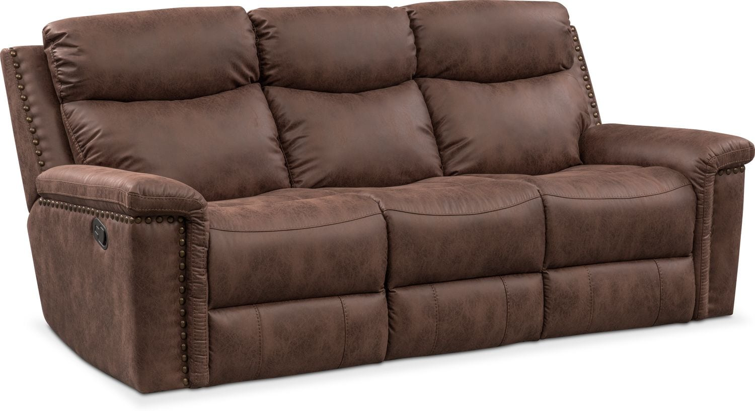 Sofa With Recliner Montana Manual Reclining Sofa Reclining Loveseat And Recliner Set