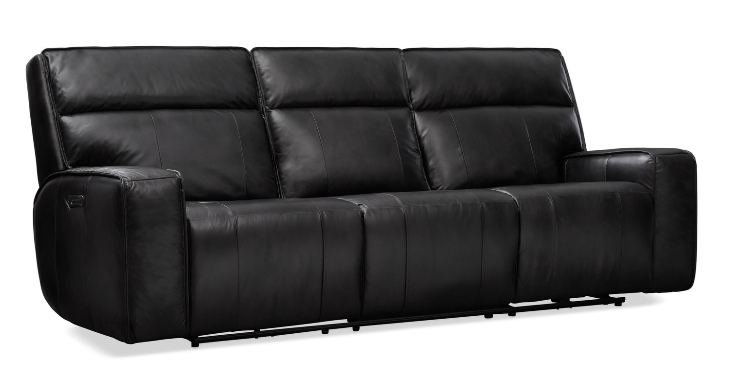 Sofa With Recliner Bradley Triple Power Reclining Sofa Reclining Loveseat And Recliner Set