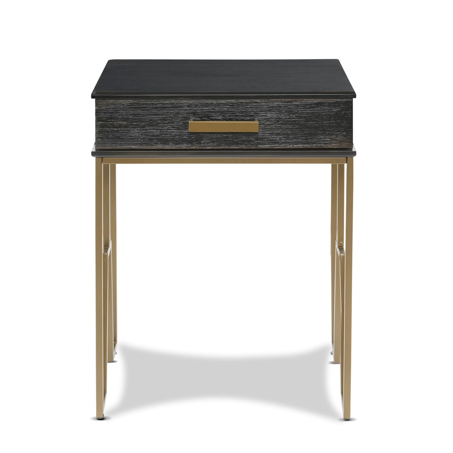 Black End Tables With Drawer Henry End Table Black