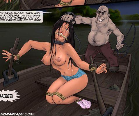 busty slave
