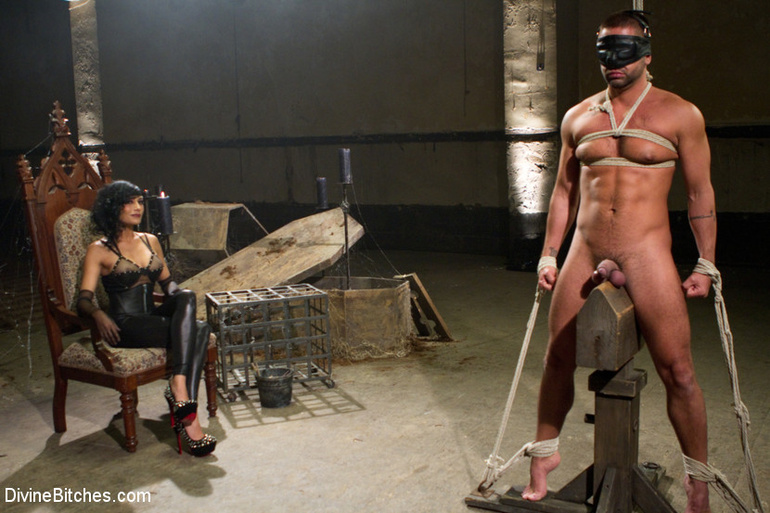 my husband tied up