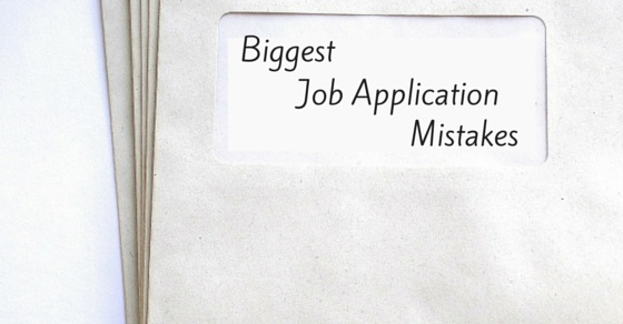 20 Biggest or Worst Job Application Mistakes to Avoid - WiseStep