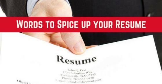 Resume trigger words