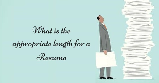 What is the Appropriate Length of a Resume? - WiseStep
