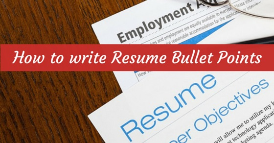 How to Write Resume Bullet Points That Will Get Attention? - WiseStep - bullet points in resume