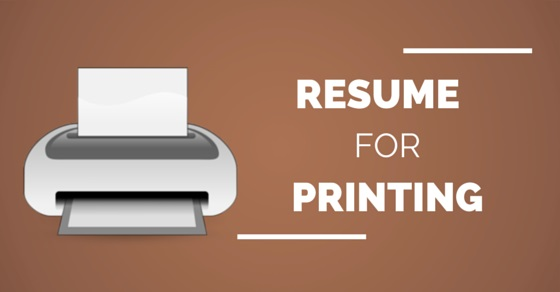 Resume Printing Best Paper Type, Size, Color and Weight - WiseStep
