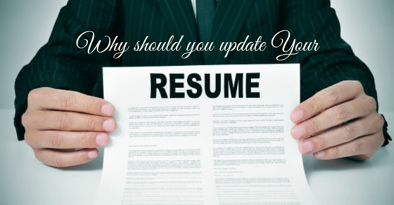 Why Should you Update your Resume Top 10 Reasons - WiseStep