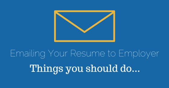 Emailing your Resume to Employer Before, While, After Tips - WiseStep - emailing your resume