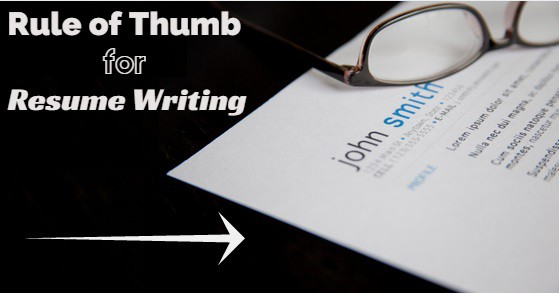 23 Rules of Thumb for Resume Writing and its Length - WiseStep