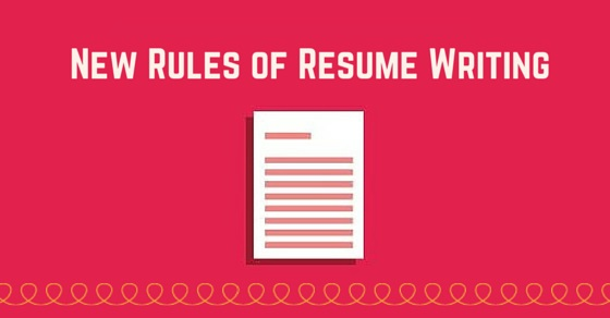 20 New Rules of Resume Writing Tips to Build a Great Resume - WiseStep